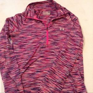 Women's Small Under Armor 3/4 zip